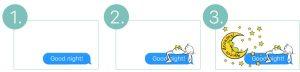 iMessage Sticker Good Night