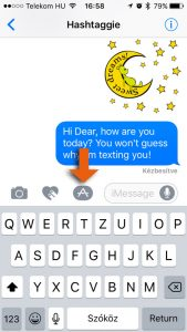 How to download iMessage Stickers - step 2