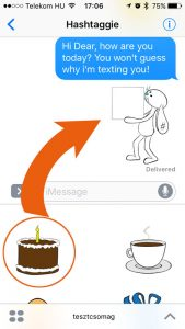 How to use iMessage Stickers - step 3