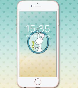 Free Background picture for iPhone to the iMessage Sticker pack Taggie and Teddy
